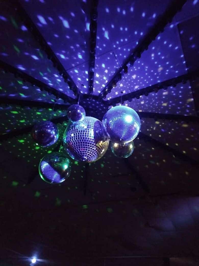 Disco Ball Rollarama Skating Center