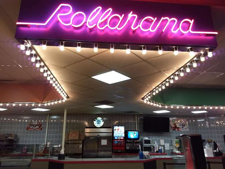 Food Counter at Rollarama Skating Center