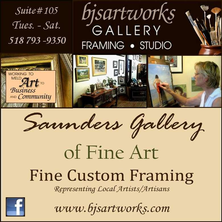 Ad for Saunders Gallery of Fine Art