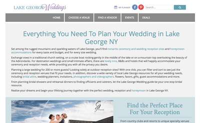 LakeGeorgeWeddings.com