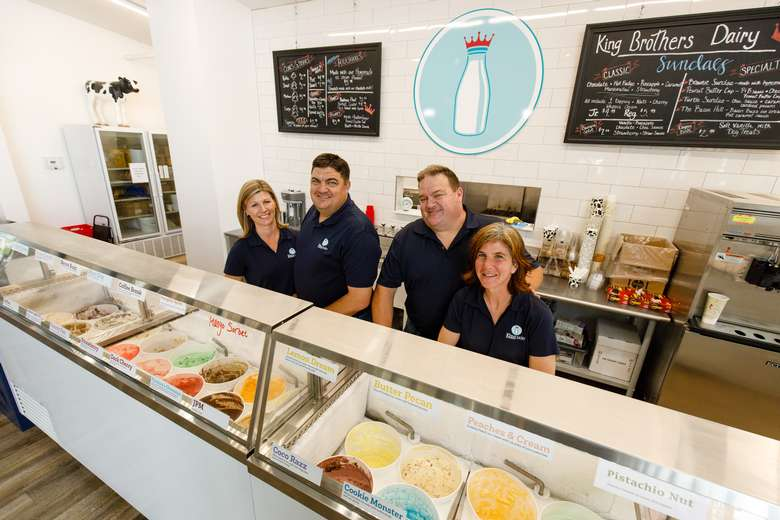 Come visit our full service ice cream parlor with 36 homemade flavors! Right on the farm!
