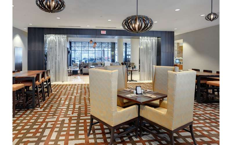 Enjoy dining inside Hilton Albany.