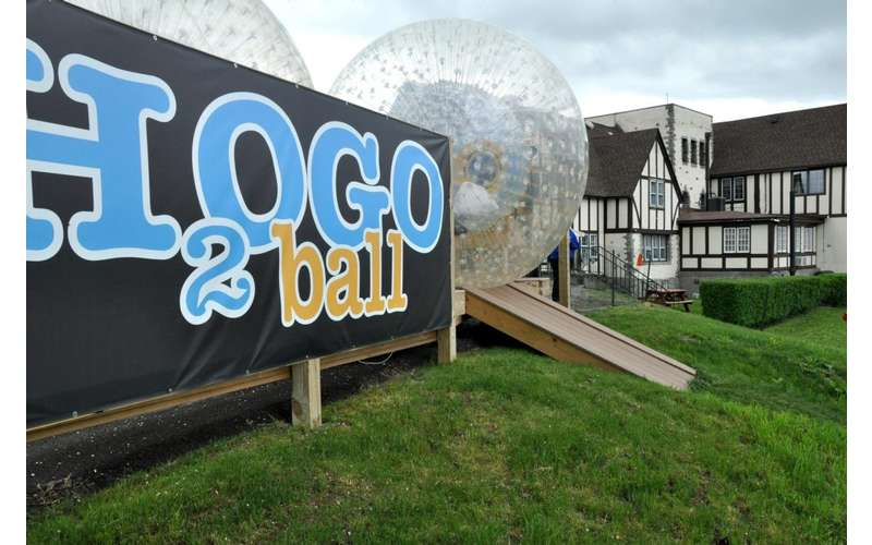 H2OGO Ball Track - the longest of its kind in the Northeast
