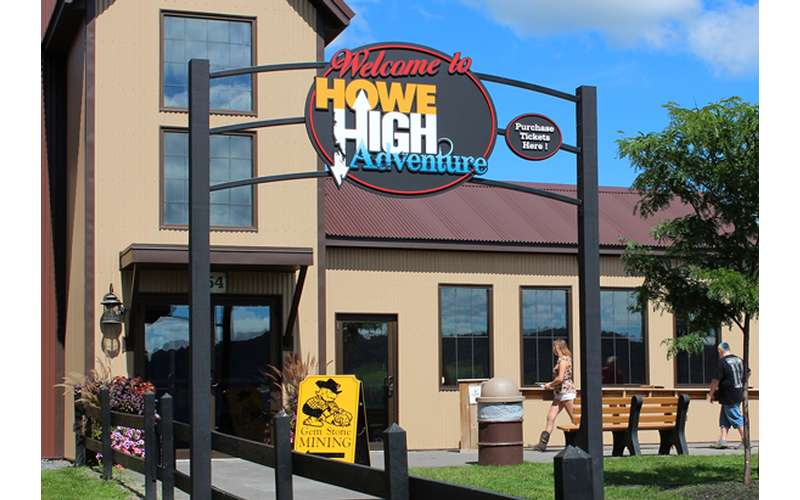 Howe Caverns Mining Company and Howe High Adventure Entrance