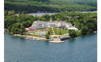 an aerial view of the sagamore hotel
