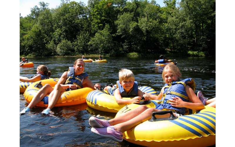 Tubby Tubes Company in Lake Luzerne, NY: Lazy River Tubing