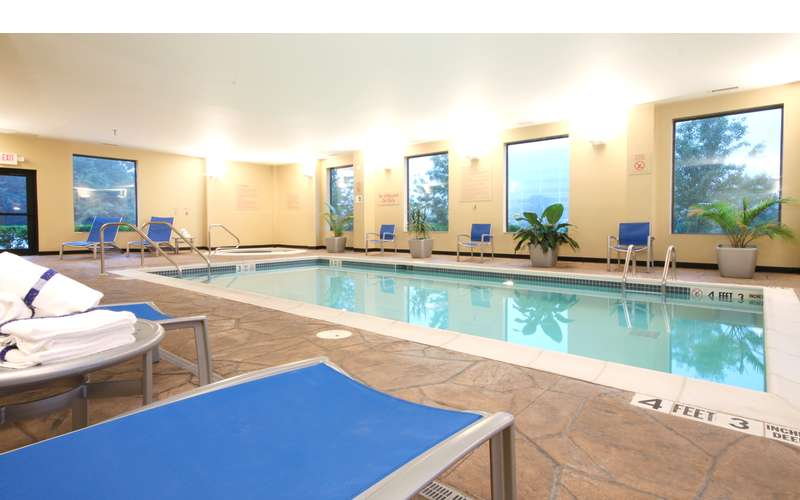 Check Out the Indoor Heated Pool & Whirlpool