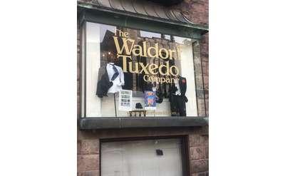 outside tuxedo store