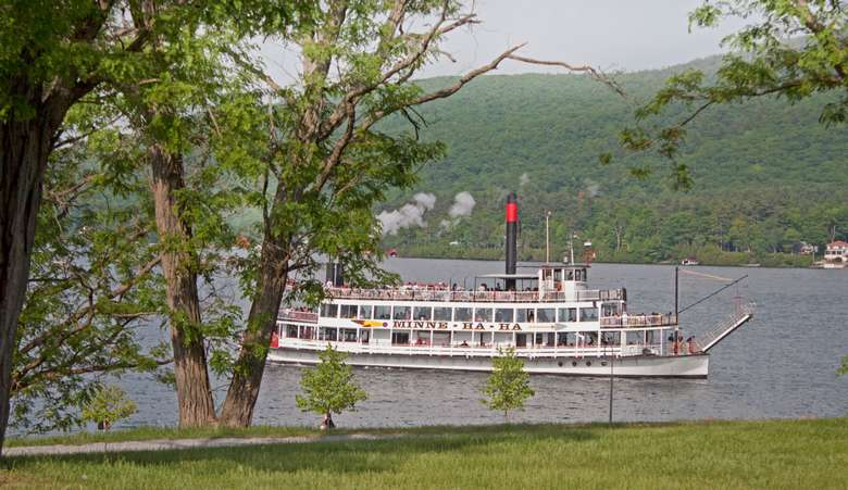Steamboat on Lake George