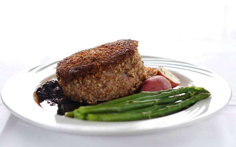pecan crusted pork chop