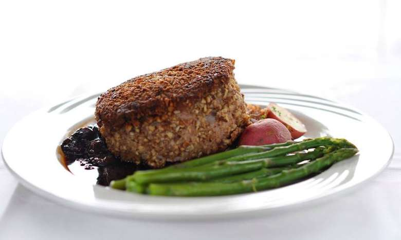 pecan crusted pork chop