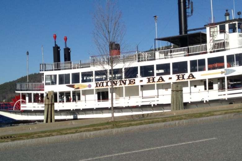 the Minnie Ha-ha steamboat