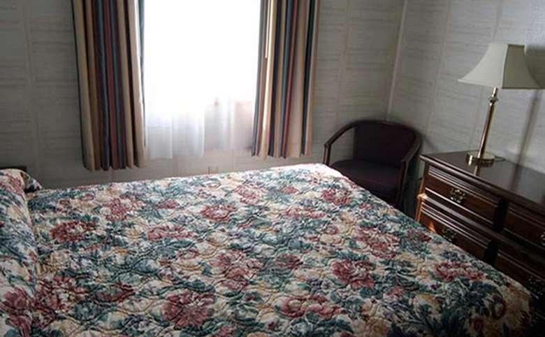 interior of a motel room