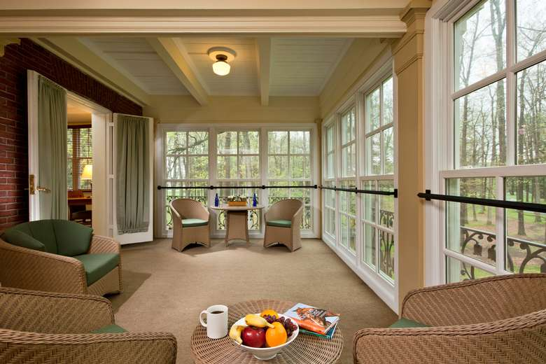 Porch Suite at The Gideon Putnam