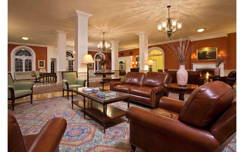 The Gideon Putnam lobby