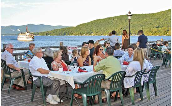 private parties catered on the boardwalk deck