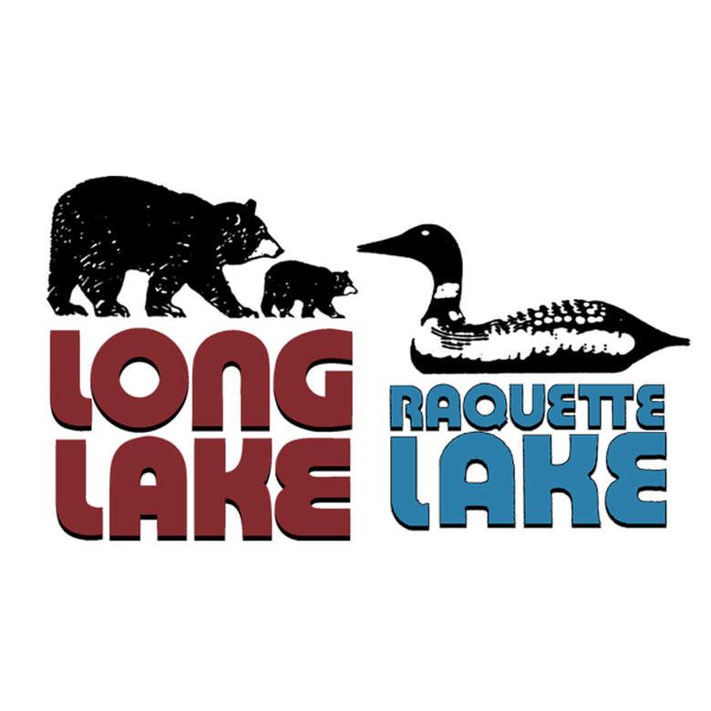 Long Lake Raquette Lake Logo