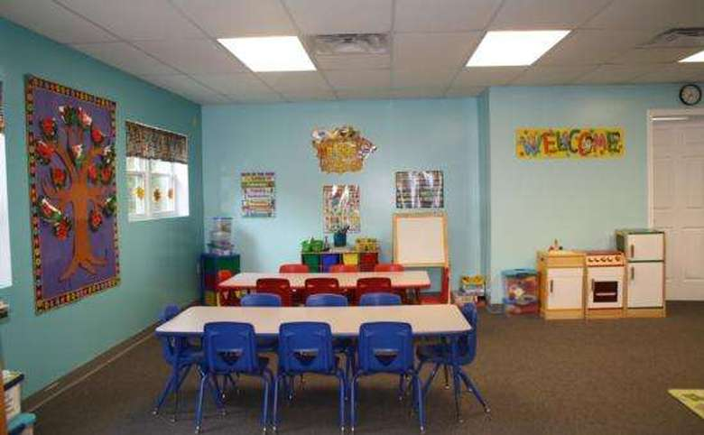 rectangular tables in daycare