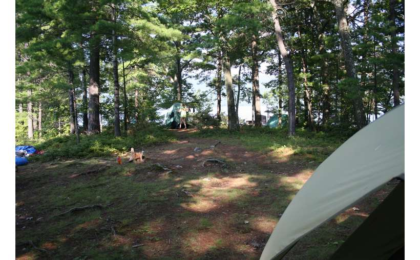 Campsite #4 - View of the point