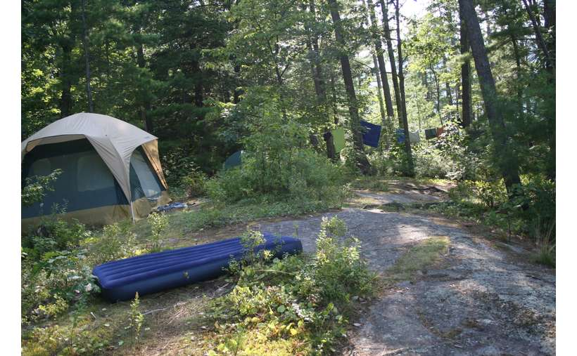 Campsite #4 - View to the back of the camp