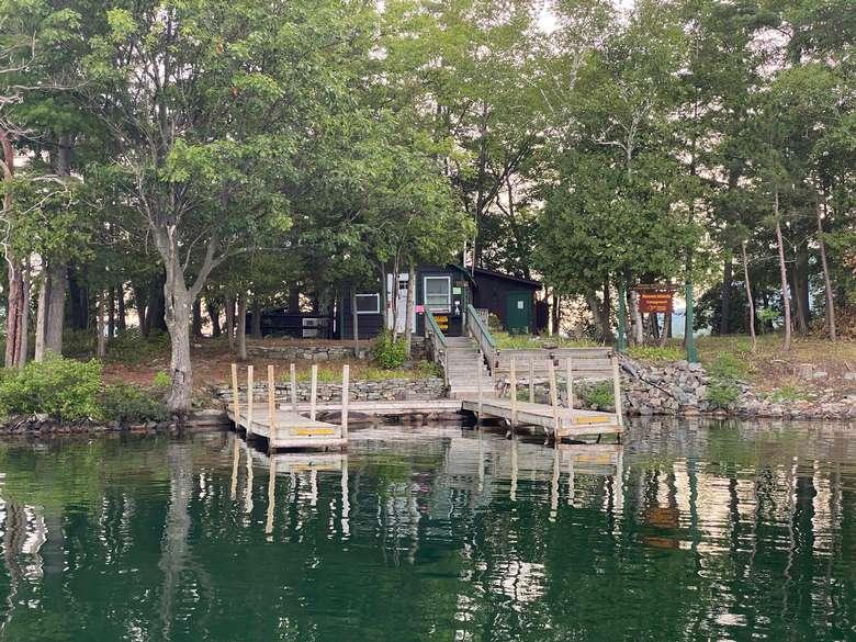 narrow island ranger station