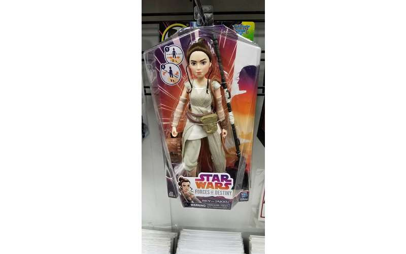 an action figure of the girl from Star Wars