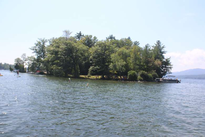 an island on lake george
