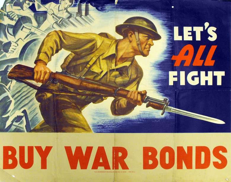 WWII Home Front Poster