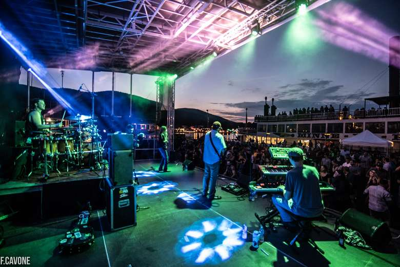 Rock the Dock Music Festival. Photo by Frank Cavone.