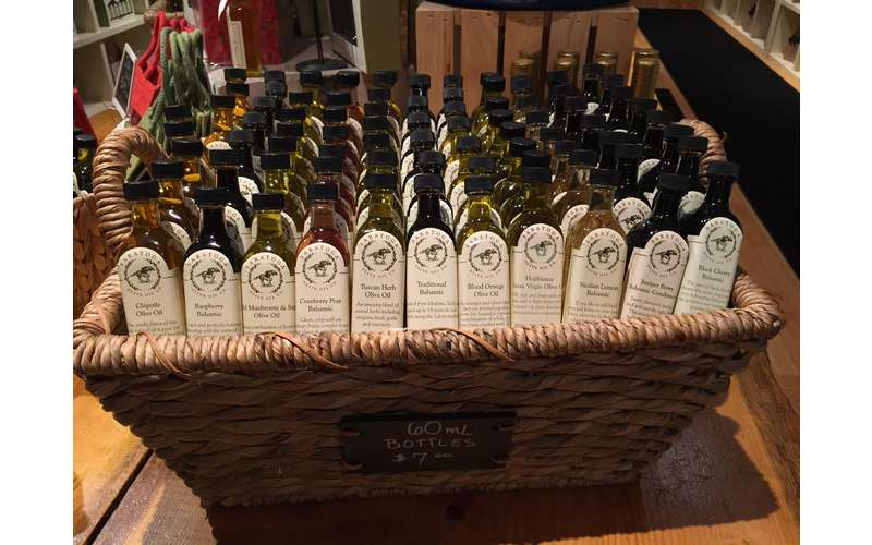 Lots of olive oil to choose from
