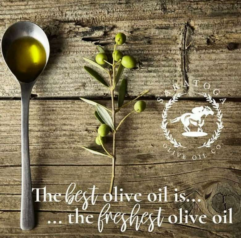 The best olive oil is the freshest olive oil.