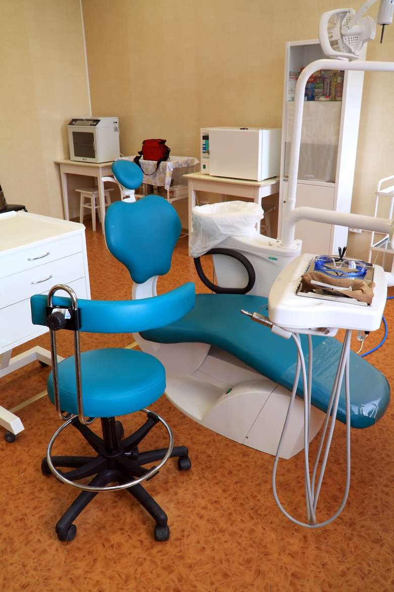 a dentist's office