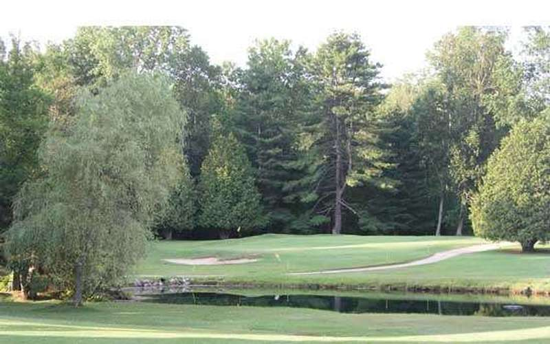 Part of the course at Queensbury Country Club