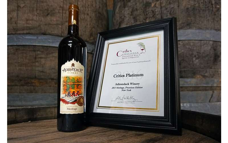 Our Meritage proudly boasts a platinum medal!