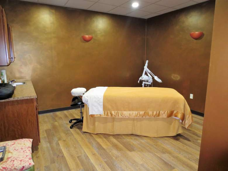 massage room at body relief day spa