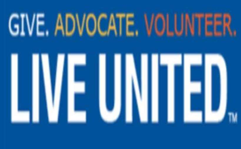 "Graphic that says ""Give. Advocate. Volunteer. Live United."""