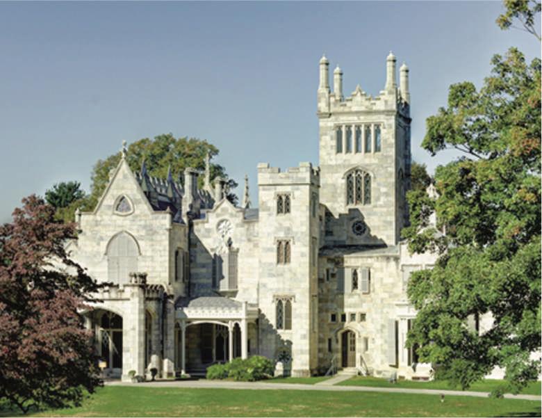 Lynhurst Mansion in the Hudson Valley