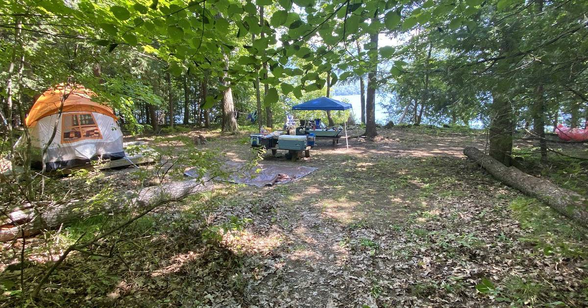 Lake George Camping - Guide To Island Camping On Lake George