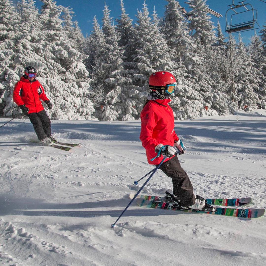 Skiing Snow Tubing Near Lake George Ny