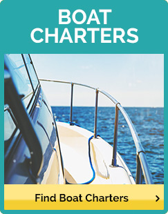 Boat charter on the water