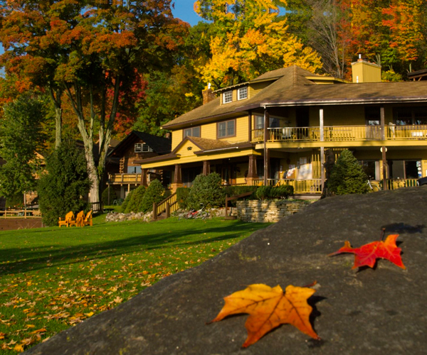 Win a Two Night Fall Getaway at The Trout House Village Resort!