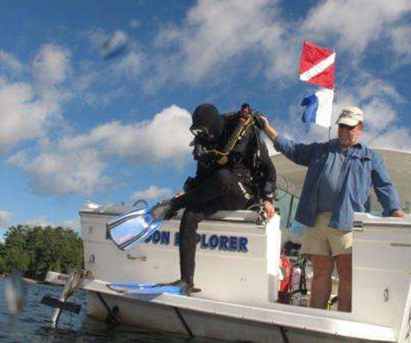 Win A Free Scuba Diving Trip on Lake George