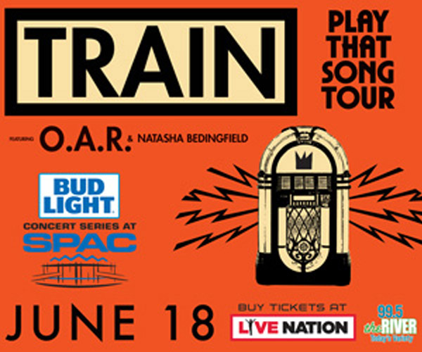 Win Tickets to See Train at SPAC!