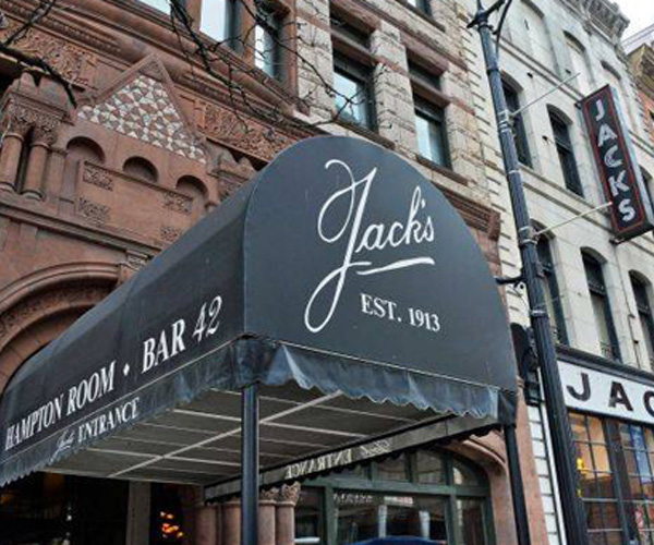 exterior of jack's oyster house