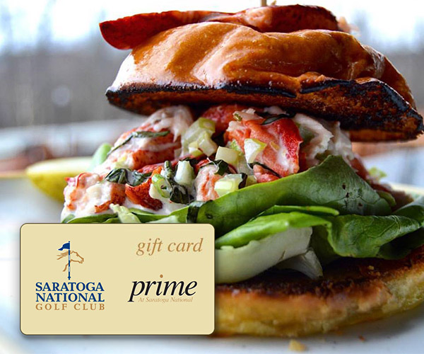 lobster sandwich with gift card