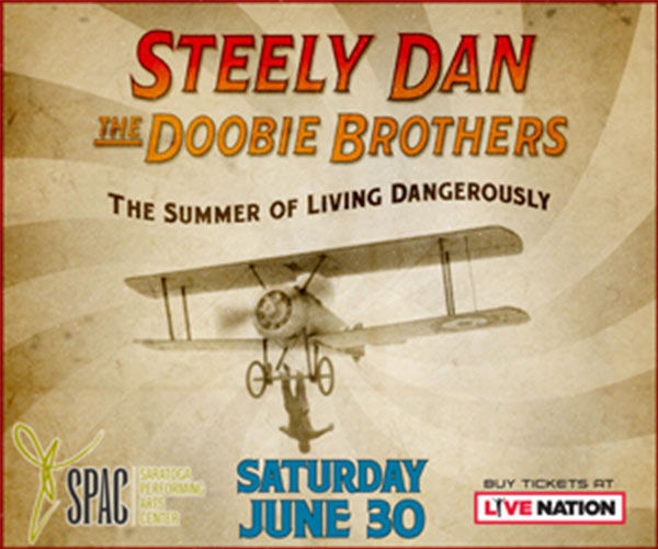 graphic for steely dan and the doobie brothers