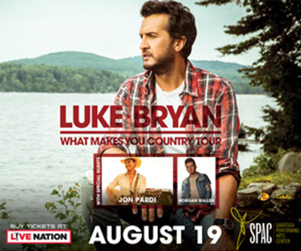 luke bryan with concert date overlaid