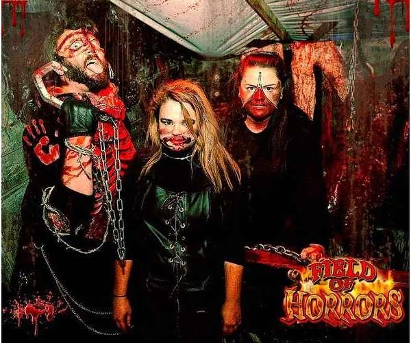 three Field of Horrors actors