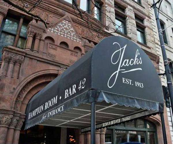 exterior photo of Jack's Oyster House building