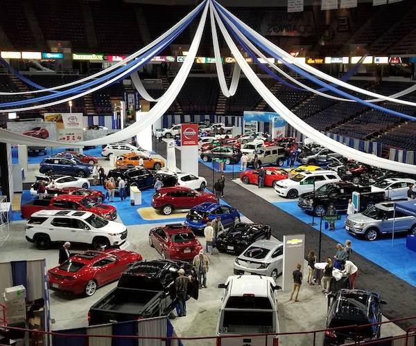 Albany Auto Show interior